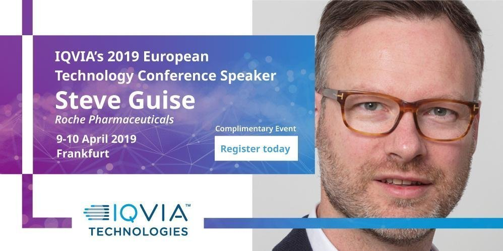 Last chance to register: IQVIA Technology Solutions Conference Europe 2019