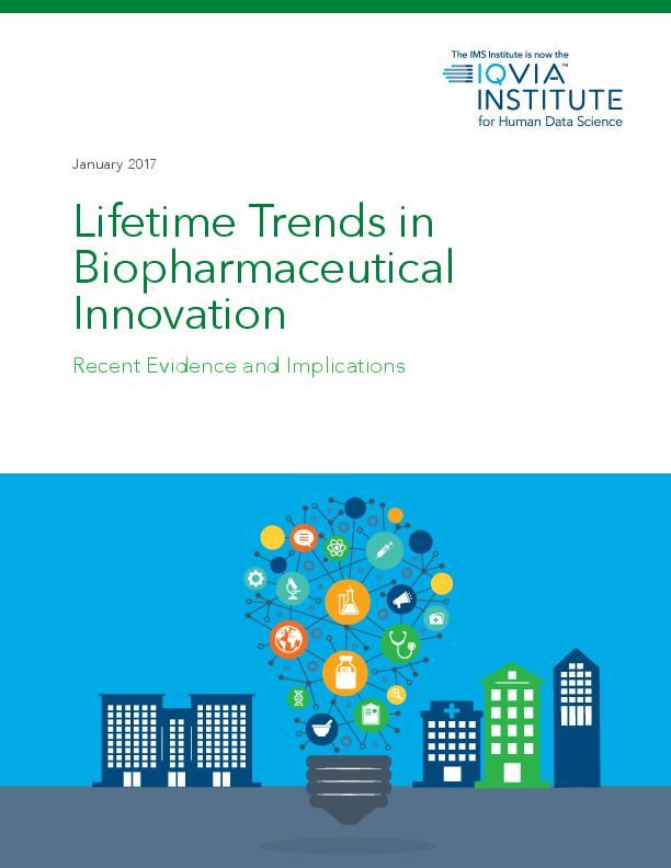 Lifetime Trends in Biopharmaceutical Innovation