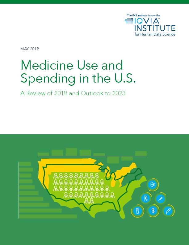 Medicine Use and Spending in the US A Review of 2018 and Outlook to 2023
