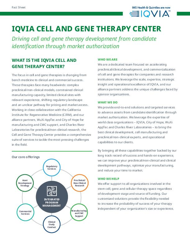 IQVIA Stem Cell Center FS