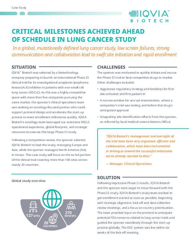 lung cancer case study pdf
