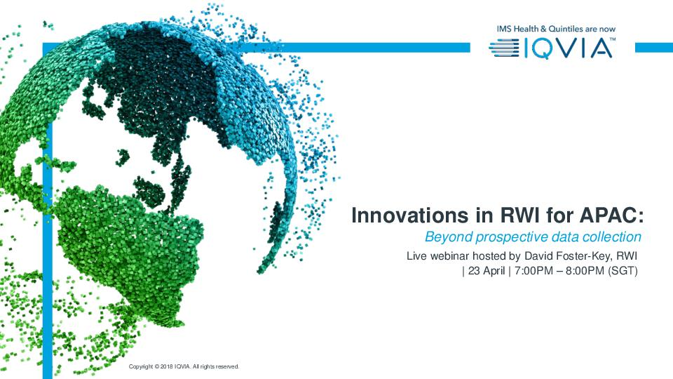 Innovations in RWI for APAC