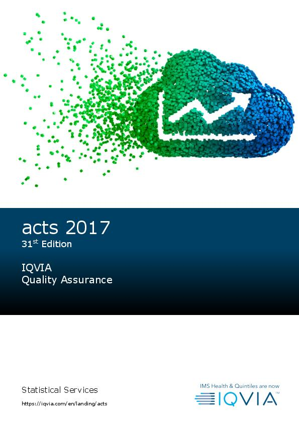 acts 2017 31st Edition