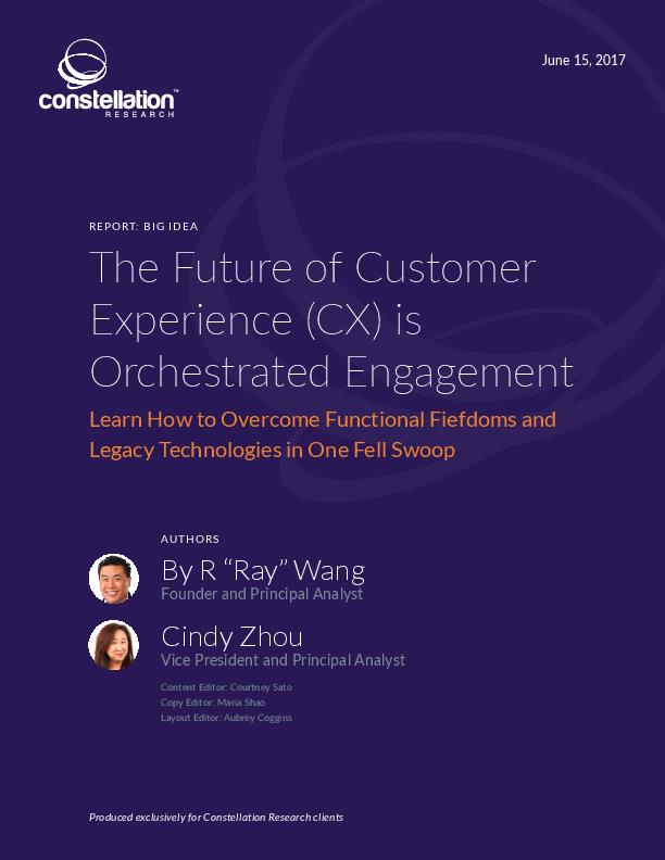 The Future of Customer Experience CX is Orchestrated Engagement