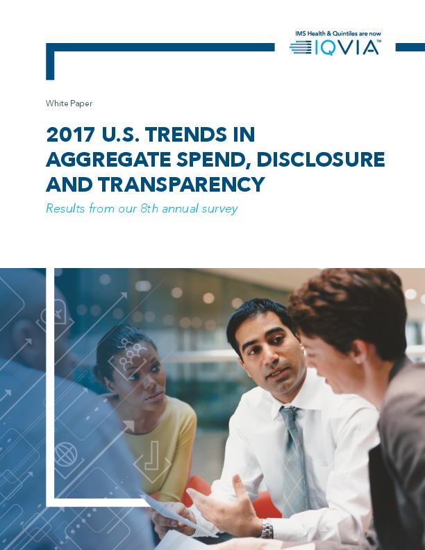 2017 US Trends in Aggregate Spend Disclosure and Transparency