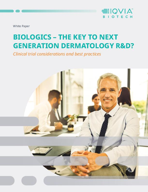Biologics The Key to Next Generation Dermatology RD