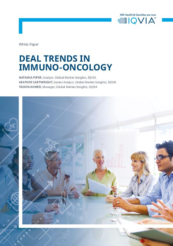 Deal Trend in Immuno oncology