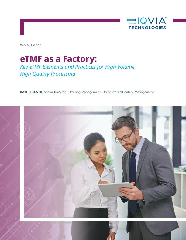 eTMF as a Factory