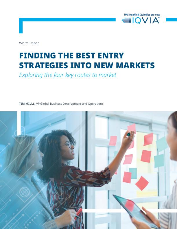 Finding the best entry strategies into new markets