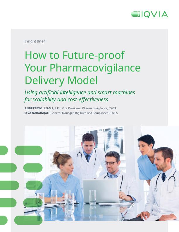 How to future proof your pharmacovigilance delivery model
