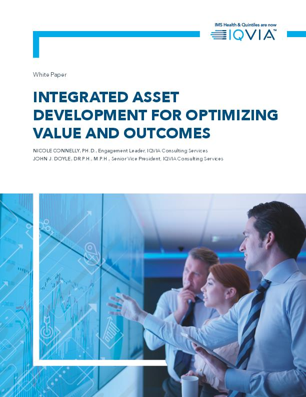 Integrated Asset Development for Optimizing Value and Outcomes