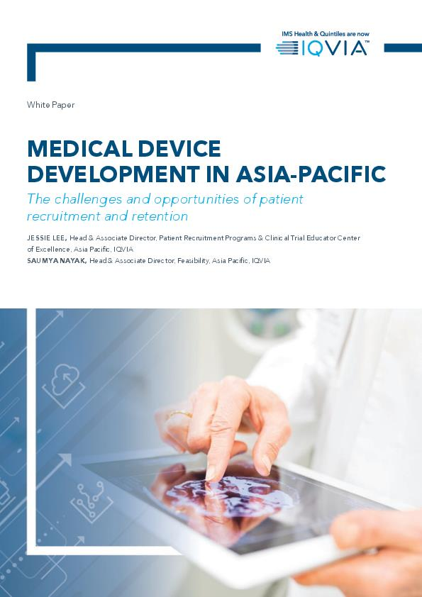 Medical Device Development in Asia Pacific