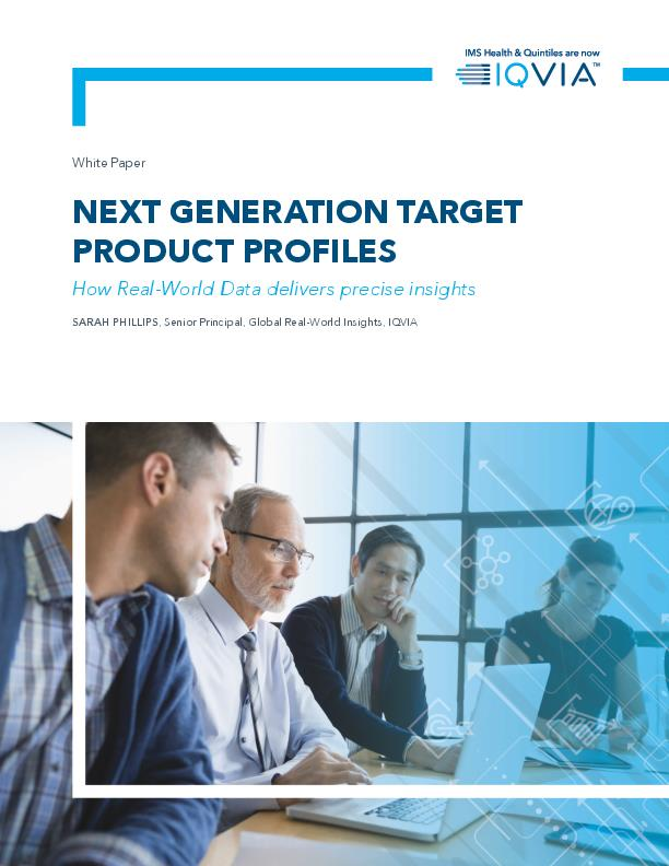 Next Generation Target Product Profiles