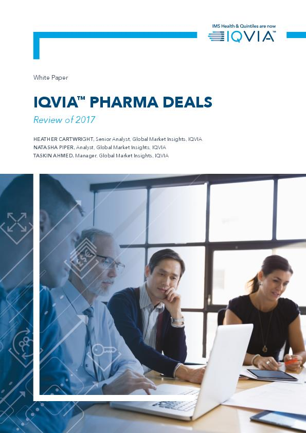 IQVIA Pharma Deals Review of 2017