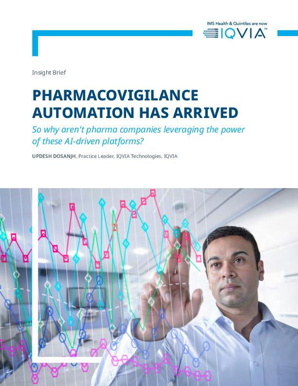 Pharmacovigilance Automation Has Arrived