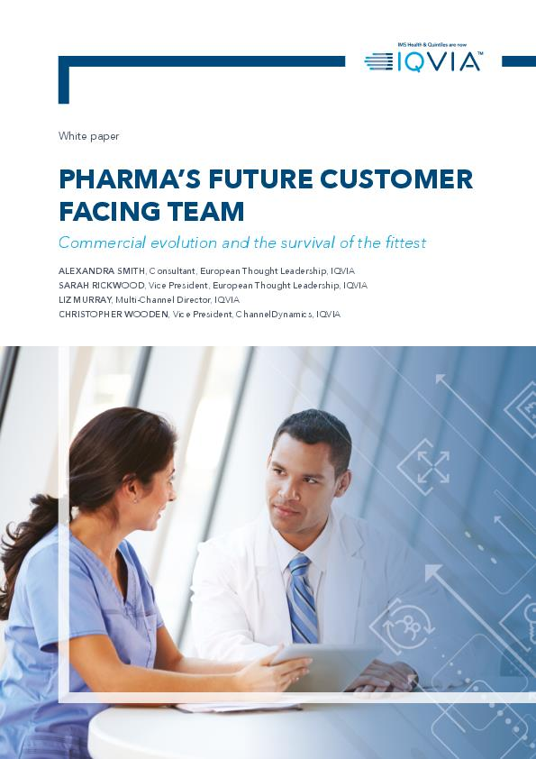 Pharmas Future Customer Facing Team