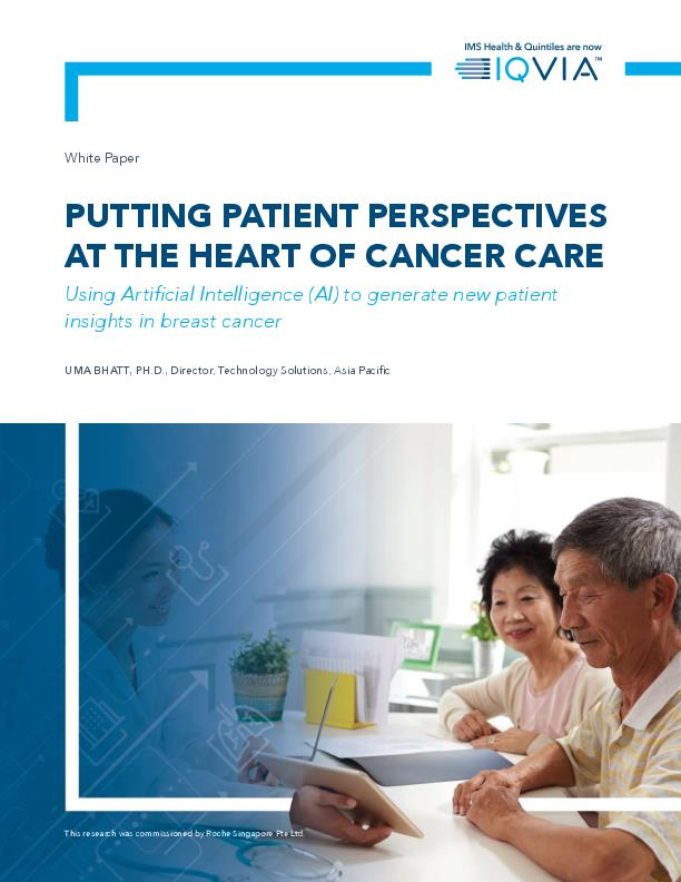 Putting Patient Perspectives at the heart of cancer care