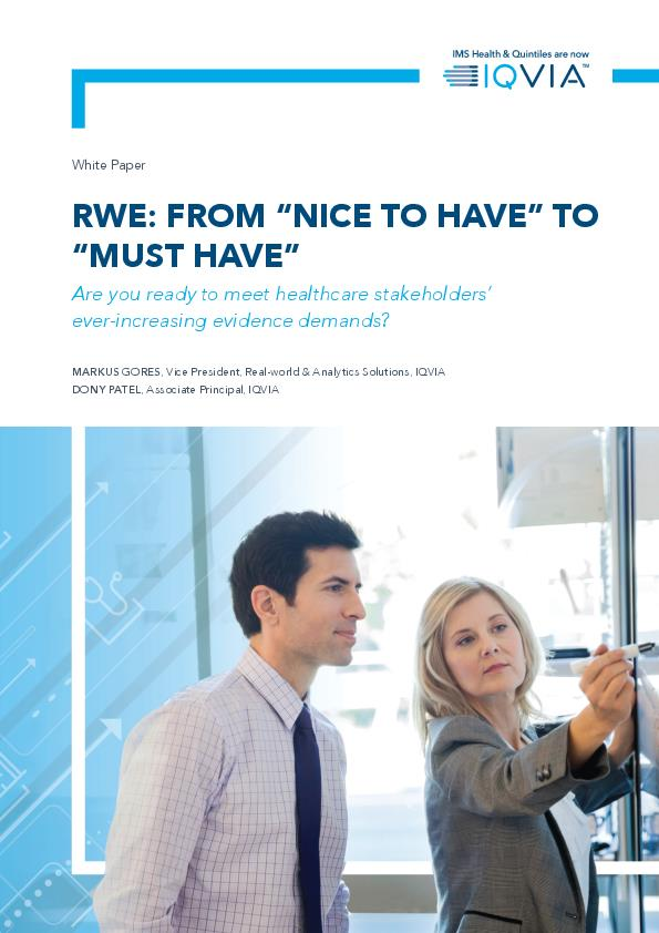 RWE From Nice To Have to Must Have