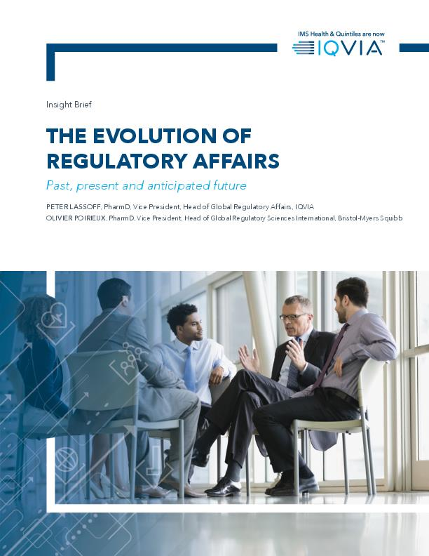 The Evolution of Regulatory Affairs