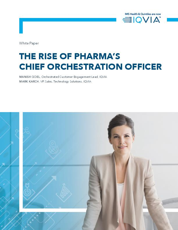 The Rise of Pharmas Chief Orchestration Officer