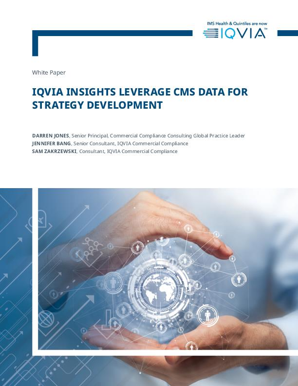 IQVIA Insights Leverage CMS Data for Strategy Development